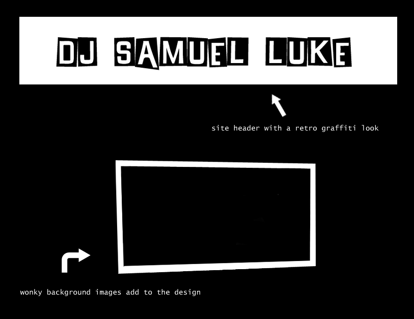 dj samuel luke graphics