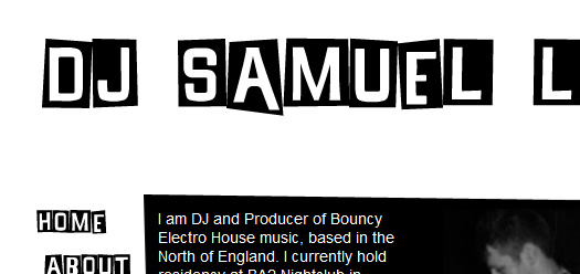 dj samuel luke website