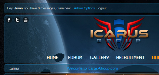 icarus group website
